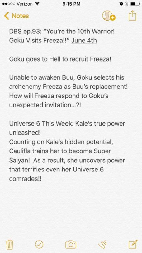 dragon ball super episode 98 Unable to awaken Buu, Goku selects his archenemy Freeza as Buu's replacement! How will Freeza respond to Goku's Unexpected Invitation ... ?!herms98 todd blankensmit yout the 10th warrior goku visits Freeza