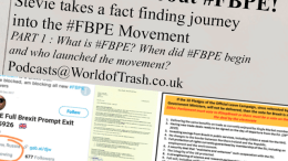The truth about the FBPE movement World of trash podcasts hosted by stevie january 2018