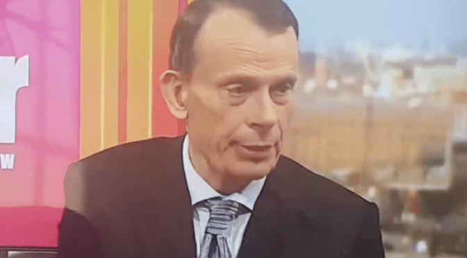 BBC Propaganda exposed! Andrew Marr on air gaff!
