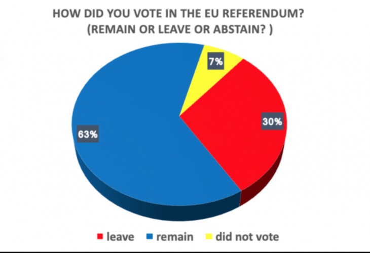 How did you vote in the EU Referendum? ABZ Media UK Divisions Survey