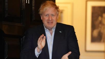 They say Boris Johnson looked ill here - but if you ask me he looked like his usual scruffy self