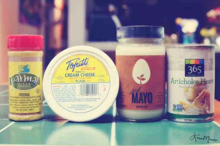 vegan artichoke dip ingredients