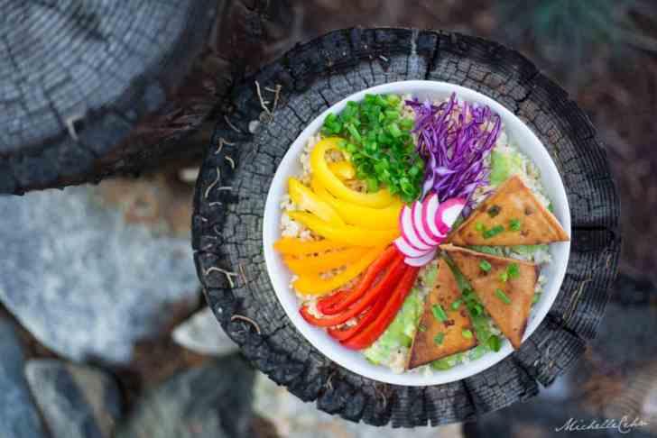 Grilled Tofu Triangles | WorldofVegan.com
