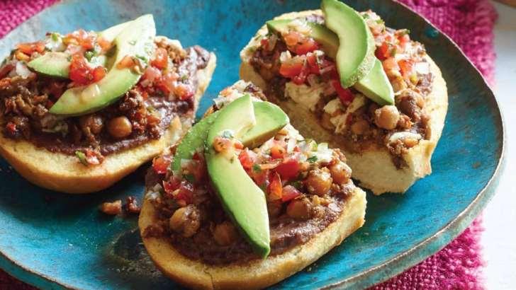 Vegan Mollete Recipe | ¡Salud! Vegan Mexican Cookbook