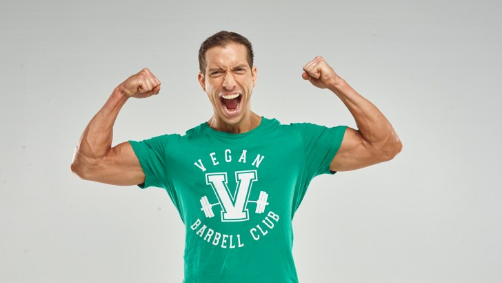 """Smashing The """"Weak Vegan"""" Stereotype One Rep at a Time"""