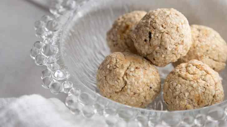 Matzah Tater Tots | Vegan Passover Recipe