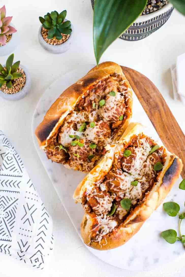 Vegan Meatball Subs Recipe