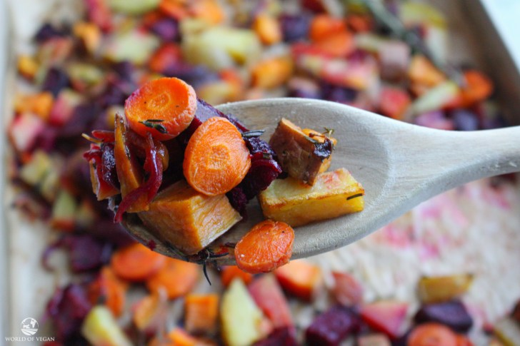 Roasted Root Vegetables   Fall Recipe