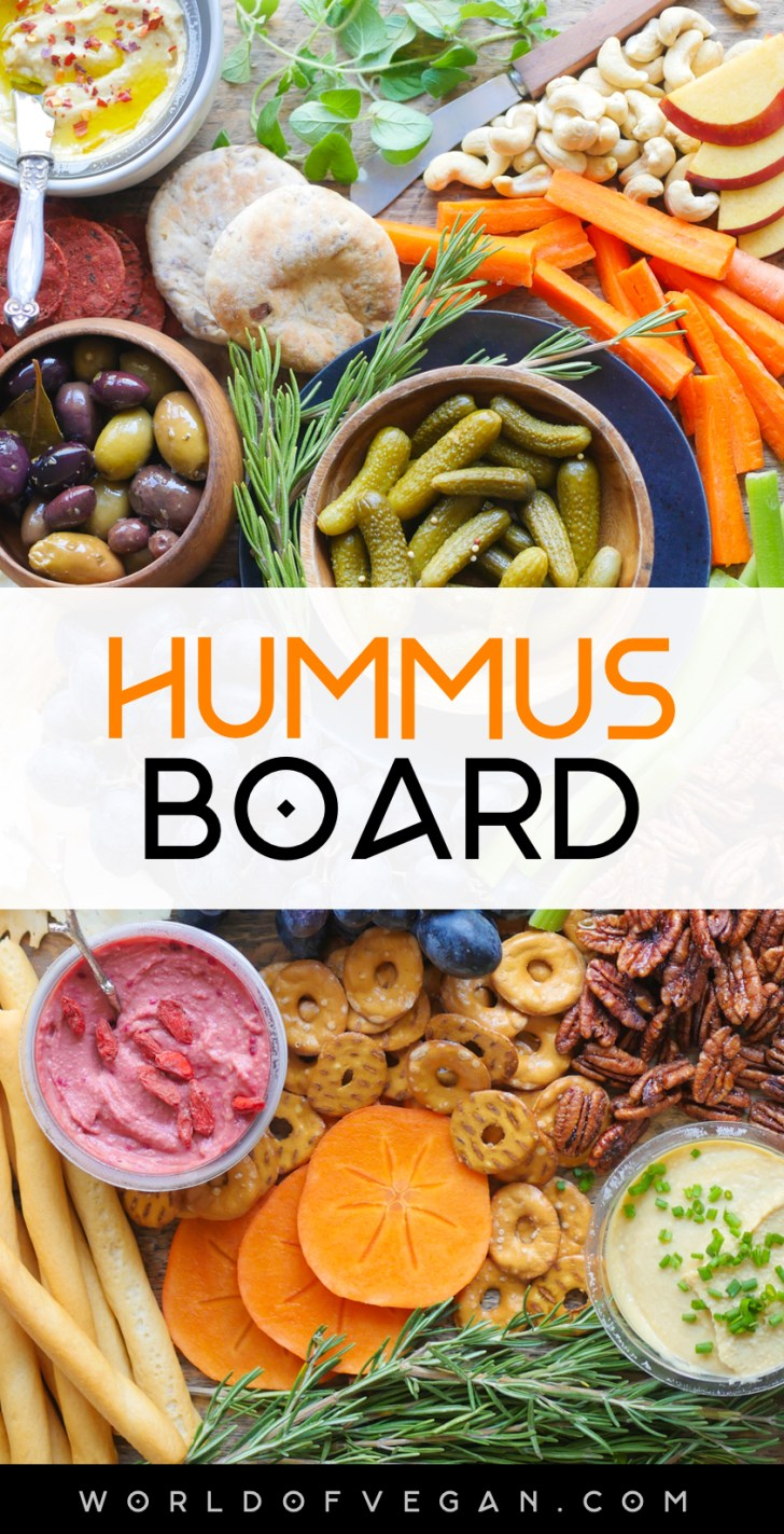Hummus Board   World of Vegan