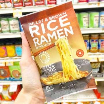 Spotted Lotus Foods Rice Ramen Vegan IG Campaign