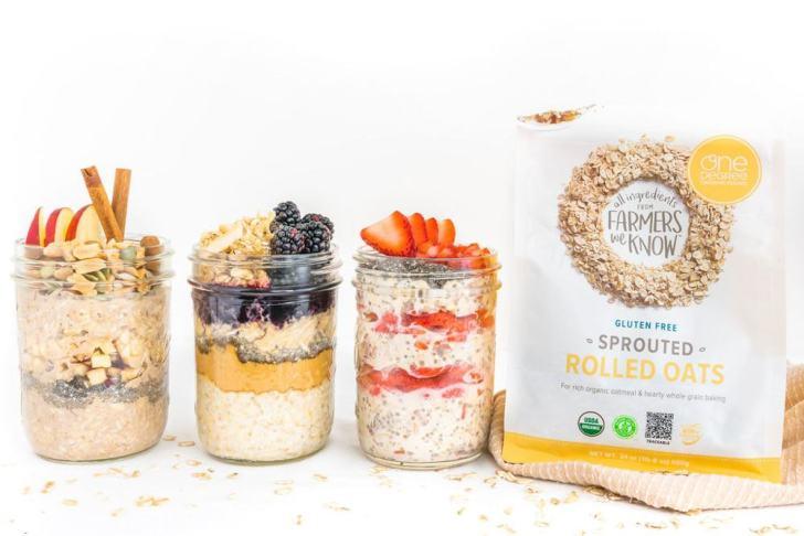 Overnight Oats—3 Ways! | World of Vegan | #vegan #breakfast #oats #oatmeal #vegetarian #healthy