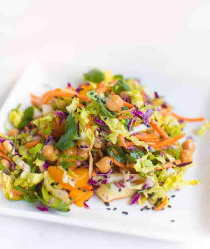 Chinese Chickpea Salad Recipe | World of Vegan