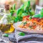 Vegan Lasagna With Tofu Ricotta from The Friendly Vegan Cookbook
