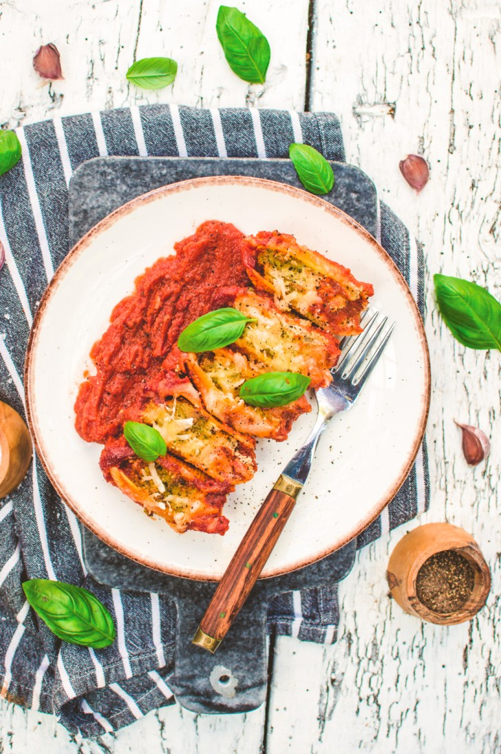Italian Vegan Pasta Shells with Basil