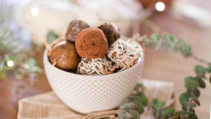 Date & Walnut Truffles