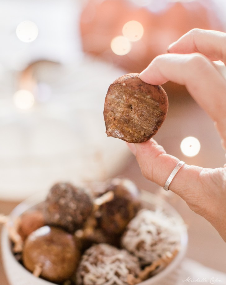 Healthy Snack Date Nut Balls