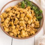 Air Fryer Tofu Cubes