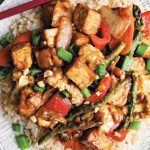 Vegan Peanut & Tofu Stir Fry Recipe