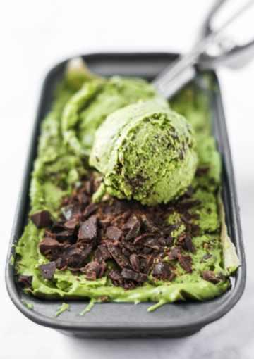 Dairy-Free Matcha Chip Ice Cream Recipe