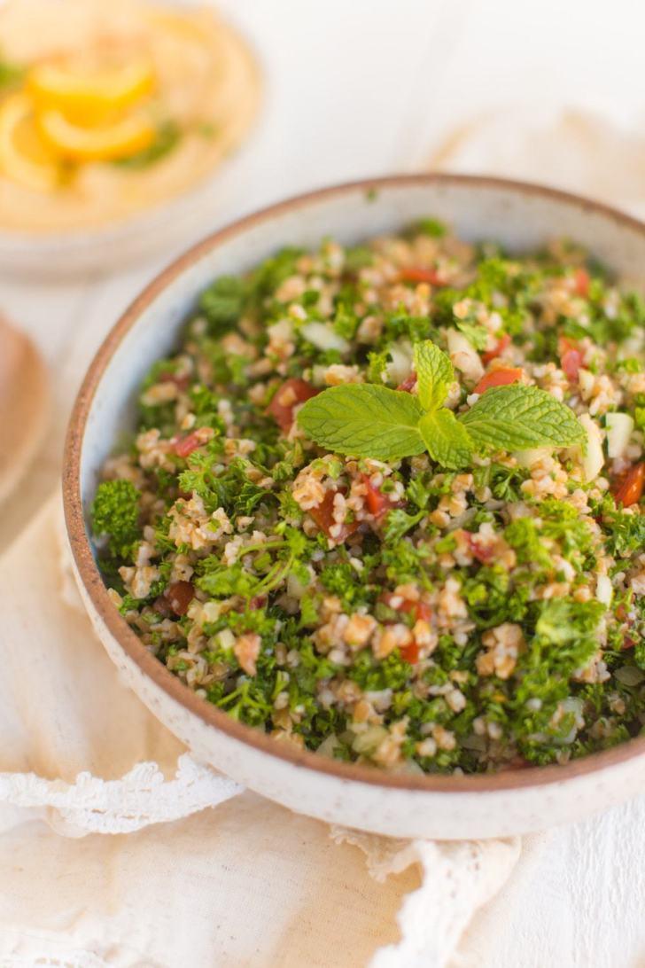 Vegan Mediterranean Recipe for Easy Tabbouleh Salad