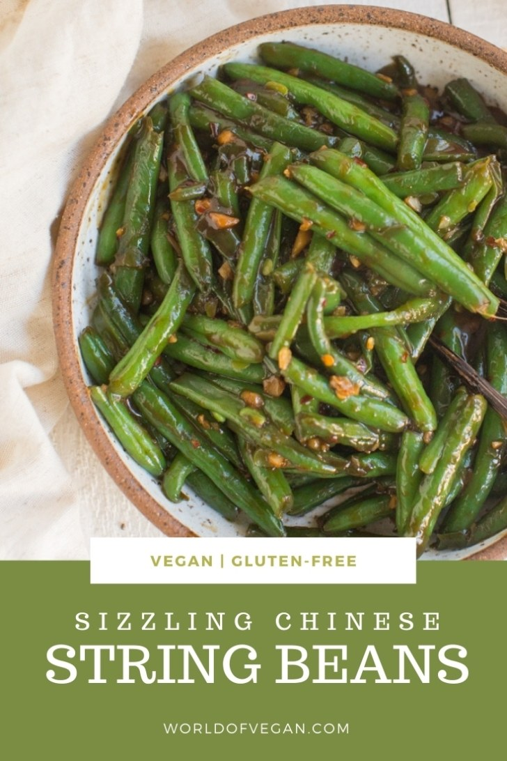 Sizzling Green Beans with Garlic Recipe