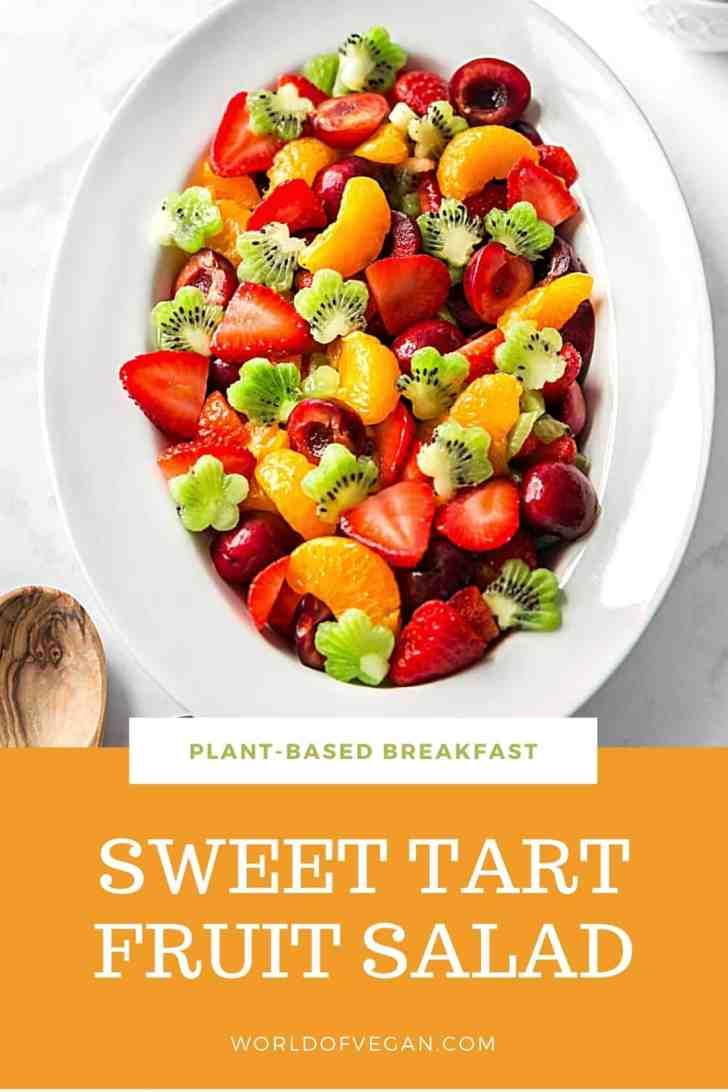 Sweet Tart Fruit Salad Recipe