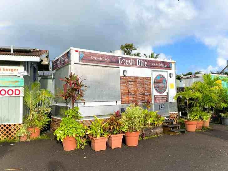 Vegan Friendly Fresh Bite Food Truck in Hanalei Kauai