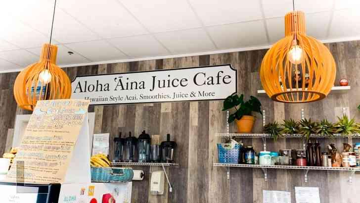Aloha Aina Juice Cafe Vegan Smoothie Bar With Avocado Toast