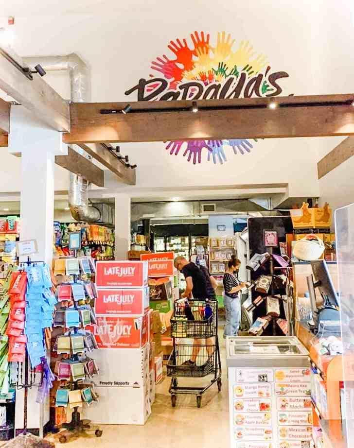 Vegan Options at Papaya's Natural Foods Store in Kauai