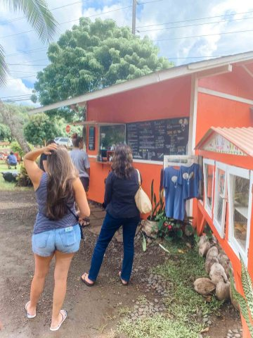 Kalalea Juice Hale Smoothie and Acai Stand in Kauai Hawaii