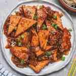Vegan Crispy Tofu With Sweet and Sour Sauce Recipe