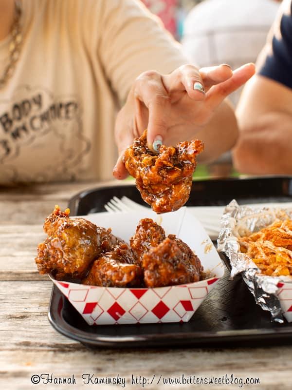Sassys Vegan Jerk Fried Chicken in Austin Texas by Hannah Kaminsky