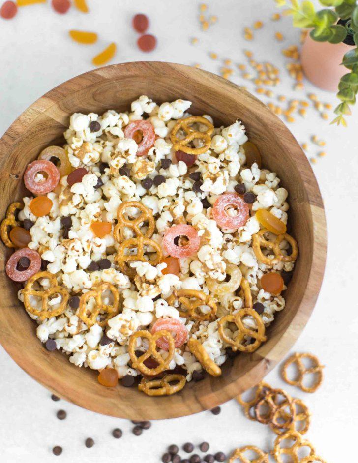 Hocus Pocus Halloween Popcorn Trail Mix