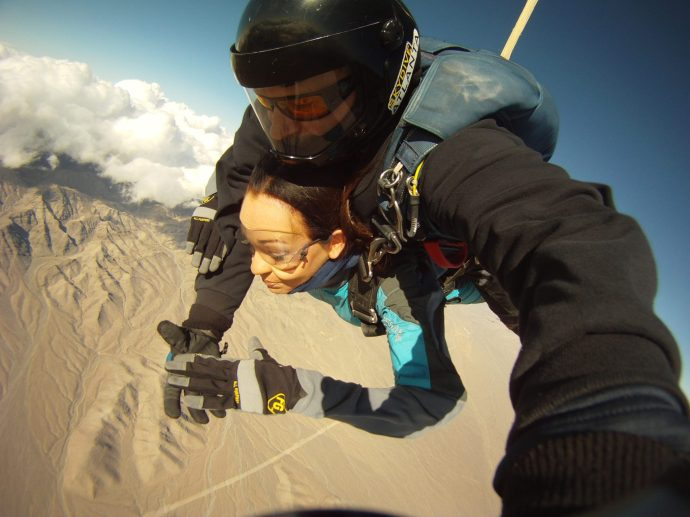 Skydiving Vegas
