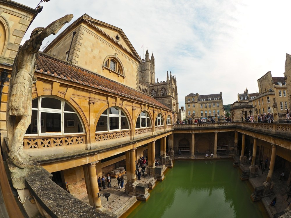 Bath Roman Baths England