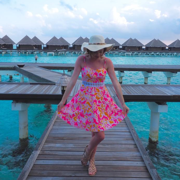 Brooke in the Maldives