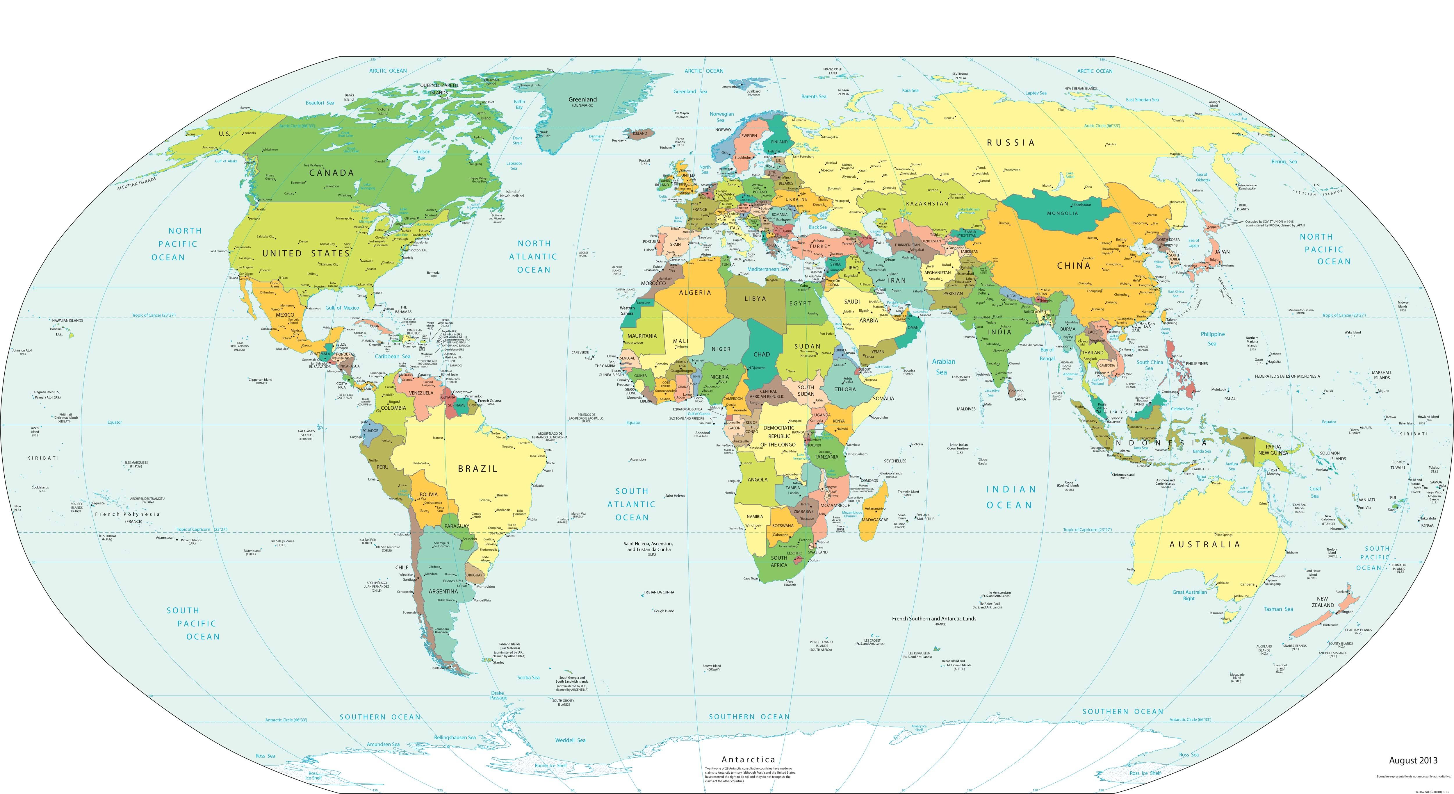World Map - Worldometer
