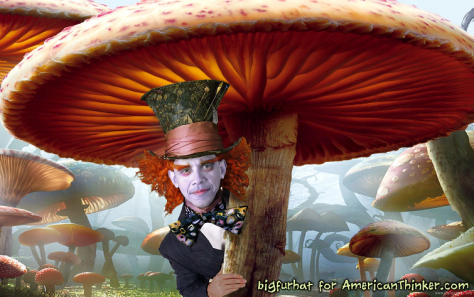 An Obama mad hatter