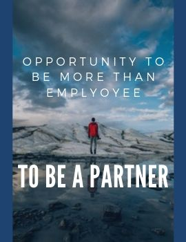 Opportunity to be more than employee
