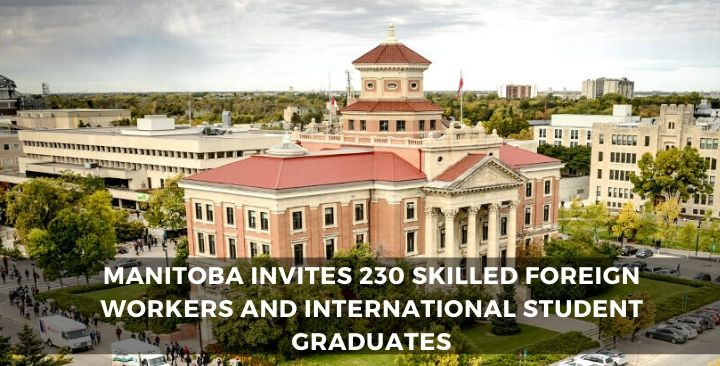 Manitoba invites 230 skilled foreign workers and international student graduates