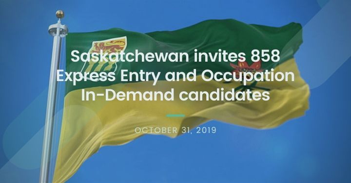 Saskatchewan invites 858 Express Entry and Occupation In-Demand candidates