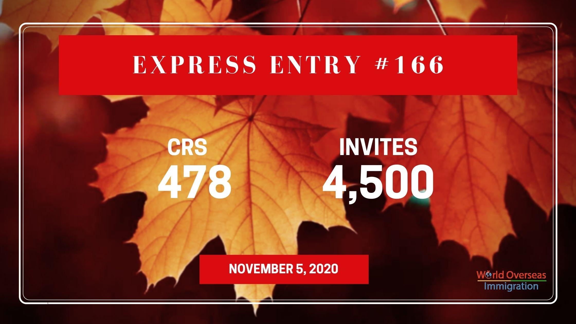 4,500 ITAs issued in new Express Entry draw