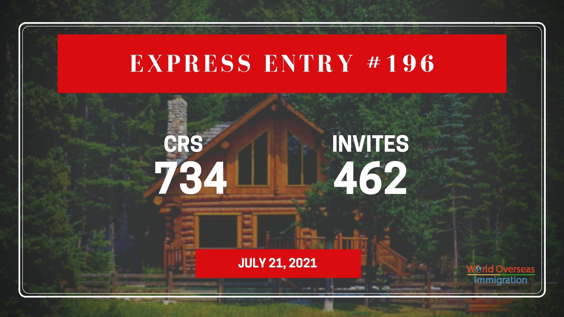 Express Entry #196: 462 PNP candidates are invited in new draw