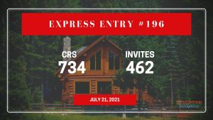 Express Entry Draw #196