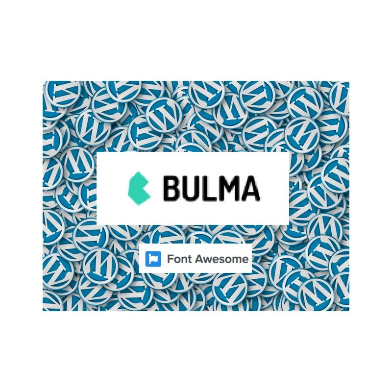 WordPress Bulma NavWalker With Font Awesome Support