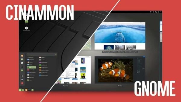 Linux - Cinnamon - Gnome