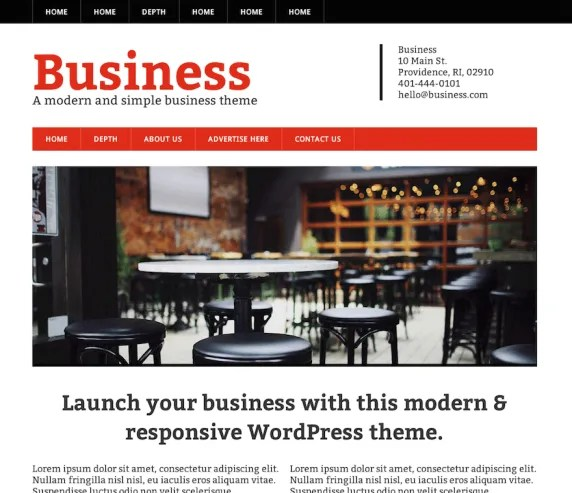 Business Responsive