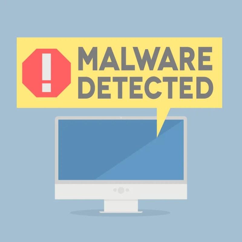Malware Detected Image
