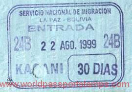 migration to Bolivia