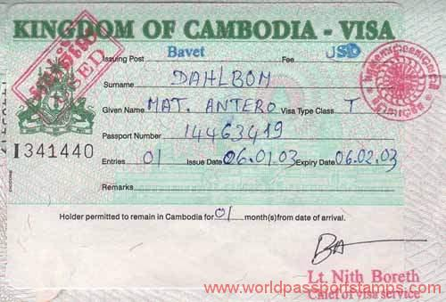 travels to Cambodia